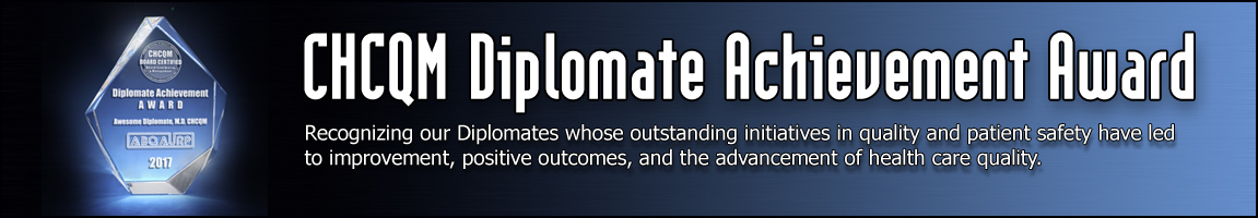 Diplomate Achievement Award Submissions